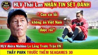 🔥 Tin Bóng Đá Việt Nam 22/10: HLV Thái Nhận Tin Sét Đánh Trước Trận Gặp VN...Thầy Park Seagames 30