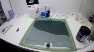 Carbon Fiber Mouse Pad - Vacuum Resin Infusion Process