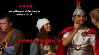 preview picture of video 'Höhle Hüttle Hüsle,  Vorarlberger Volkstheater, Am Bach, Götzis'