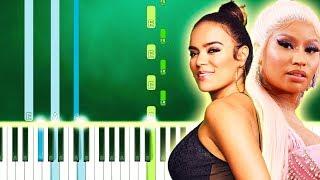 KAROL G, Nicki Minaj - Tusa (Piano Tutorial Easy) By MUSICHELP