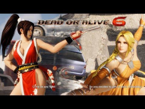 Dead or Alive 6 Mai Shiranui vs Helena
