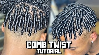 Comb Twist/Finger Coils For Men Tutorial | PrettyBoyFloyd 🌹