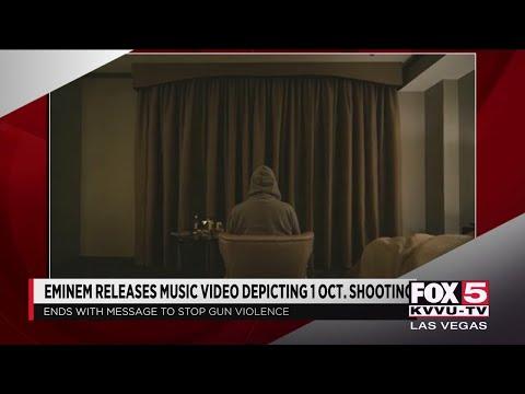 Eminem releases music video depicting Las Vegas shooting