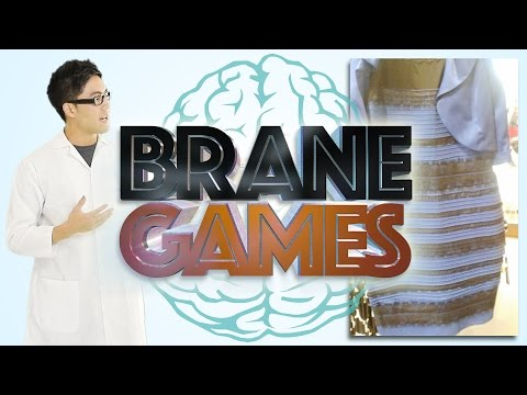 Brane Games: What Color is the Dress? (видео)