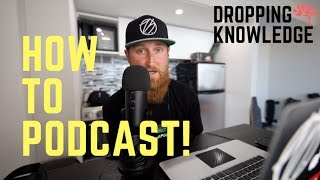 How to - Podcast Setup! | Multitrack Recording & Free Software