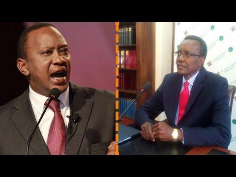 Okoth Osewe: Ten Reasons Why Uhuru Kenyatta is Mad With Justice David Maraga