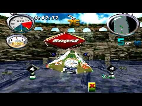 hydro thunder playstation cheats