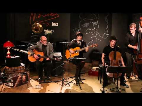 Eva Dénia Trio en concert - Ballade des dames du temps jadis /2 - Café Mercedes Jazz, Live 2011