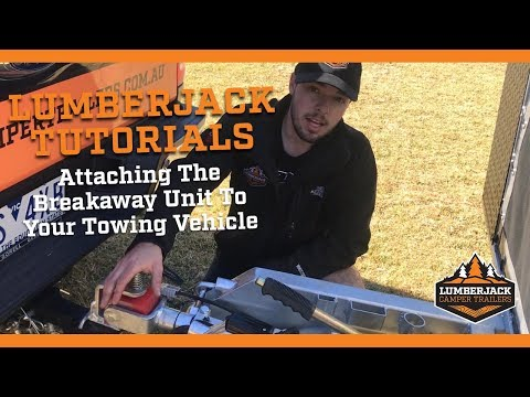 How To Attach The Breakaway To Your Towing Vehicle