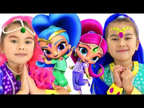 Shimmer and Shine full episode | Funny stories for kids | Abby Hatcher vs Shimmer and Shine