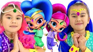Shimmer and Shine full episode | Funny stories for kids | Abby Hatcher vs Shimmer and Shine