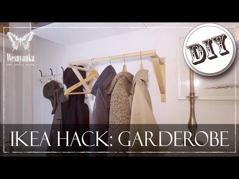 DIY : IKEA HACK | GARDEROBE für den FLUR