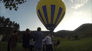 preview picture of video 'Globo cautivo en bodas de plata'