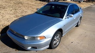 $430 287k Mile Copart Mitsubishi Galant Died at a Stoplight!!