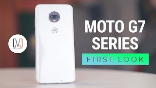 Moto G7 Hands-On (G7 Power, G7 Play)