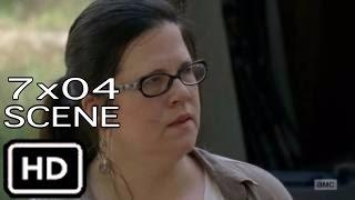 "The Walking Dead 7x04 ""Negan Threatens Olivia infront of Rick"" Scene Season 7 Episode 4"