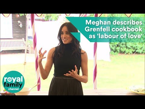 Meghan Markle describes Grenfell cookbook as a  labour of love  in speech 5051ab82ca1