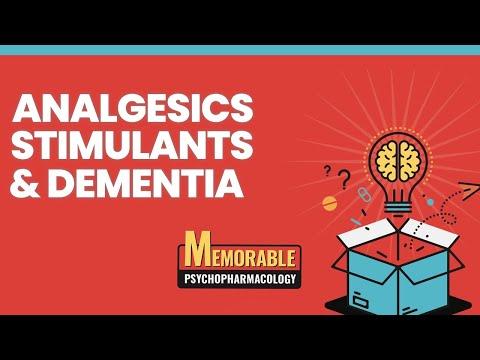 Psychofarmakologia 7-9: leki przeciwbólowe, stymulujące i przeciw otępieniu