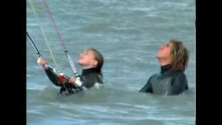 preview picture of video 'Kiteschule Kitesurfing.at in Podersdorf am Neusiedlersee'
