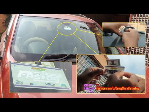 Fastag unboxing and installation Fast Tag by PayTm Fastag Installed on Mahindra XUV500