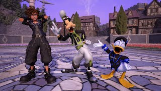 Yozora custom outfit for Sora - Donald and Goofy Drip