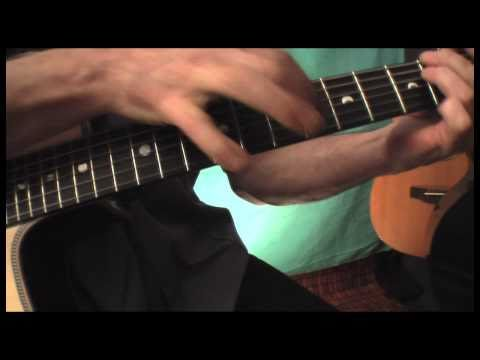 Acoustic Guitar Solo - Finger Tapping - Jeff Williams