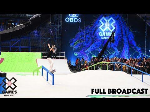 REPLAY: Nordic Men's Skateboard Street Qualifier | X Games Norway 2019