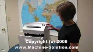 Intimus 26 CC3 Cross Cut Paper Shredder Video