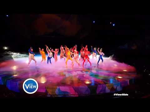 Cirque Du Soleil Mystère Rocks The #ViewSlide | The View