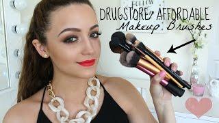 Best Drugstore/ Affordable Makeup Brushes!