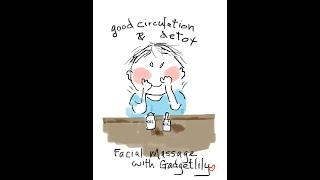 Facial massage | home face massage | lymphatic drainage massage | anti-aging skincare
