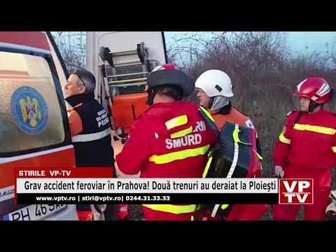 Grav accident feroviar în Prahova! Două trenuri au deraiat la Ploieşti