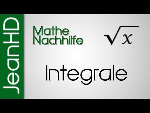 Mathe Nachhilfe - Integrale - Grundlagen - Analysis