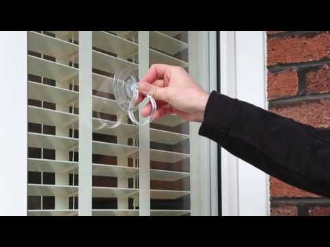 How To - Install Lights on a PVC Window