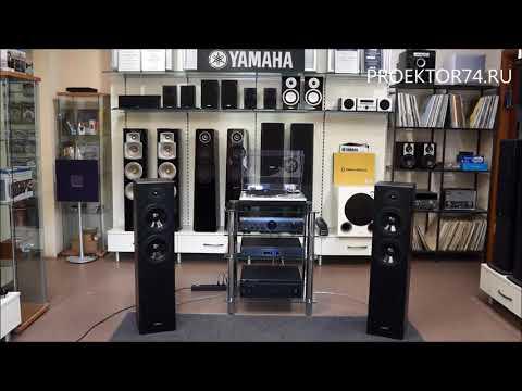 Прослушивание напольной акустики Yamaha NS-F51