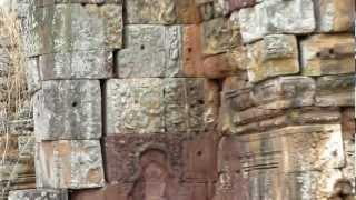 preview picture of video 'Atop Phnom Banon Temple in Battambang, Cambodia'