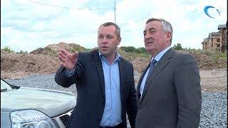 Юрий Бобрышев проинспектировал ход ремонтных работ на дорогах Великого Новгорода