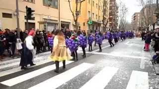 preview picture of video 'Carnevale di Nuoro 2015'