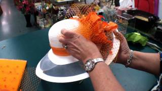 Derby Hats - Trimming Part 2