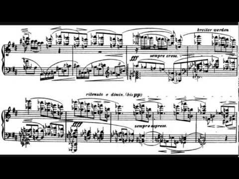 Alban Berg - Piano Sonata, Op. 1