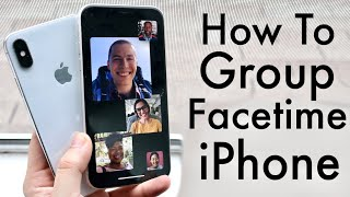 How To Group FaceTime On iPhone!