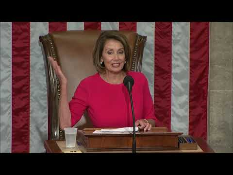 House Speaker Nancy Pelosi is laying out her agenda for the new Democratic majority, after being elected to the same post she held from 2007 until 2011. She's the only woman to ever hold the chamber's top job. (Jan. 3)