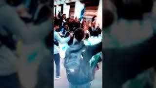 Аргентинские болельщики прибыли в Москву и устроили праздник в метро