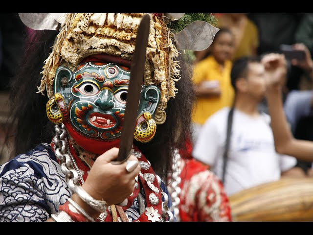 Walkabout with Anil: Indra Jatra