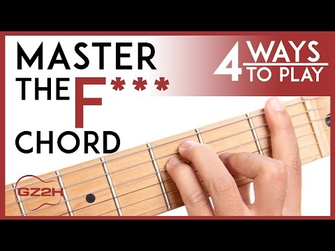 Guitar F Chord Easy Image collections - guitar chord chart with ...