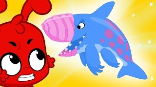 Crazy Earth Shark and Morphle the super hero! Kids Animation episodes!