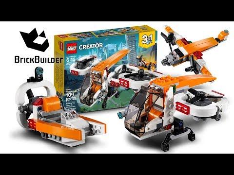 Vidéo LEGO Creator 31071 : Le drone d'exploration