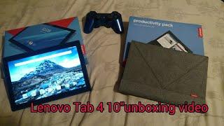 Lenovo Tab 4 10 unboxing   mini review