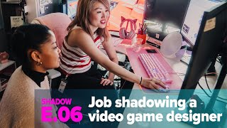 Shadow: A Day In The Life Of A Video Game Designer [Women In Games]