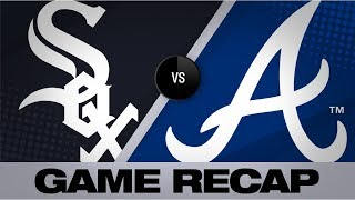 Braves' quick start propels them to 11-5 win | White Sox-Braves Game Highlights 8/31/19